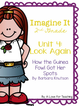 Imagine It How the Guinea Fowl Got Her Spots Grade 2 {Editable}