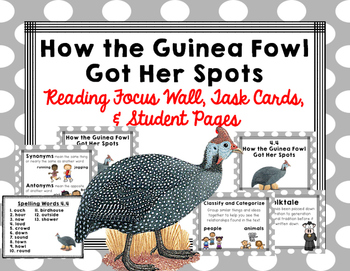 "Imagine It ""How the Guinea Fowl Got Her Spots""  Unit 4.4 R"