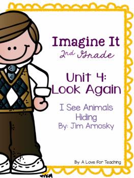 Imagine It I See Animals Hiding Grade 2 {Editable}