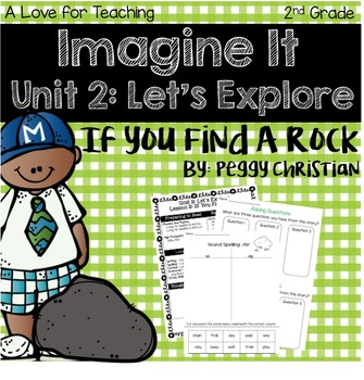 Imagine It If You Found a Rock Grade 2 {Editable}