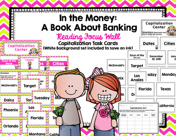 """Imagine It """"In the Money: A Book About Banking""""  Unit 3.2 Reading Focus Wall"""