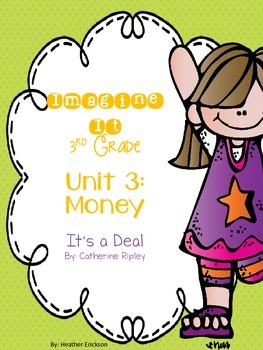 Imagine It It's a Deal Grade 3 {Editable}