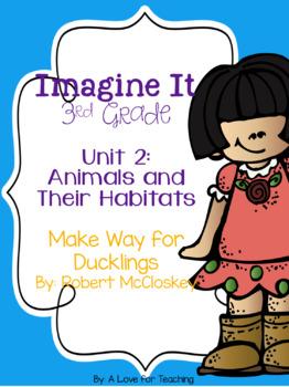 Imagine It Make Way for Ducklings Grade 3 {Editable}