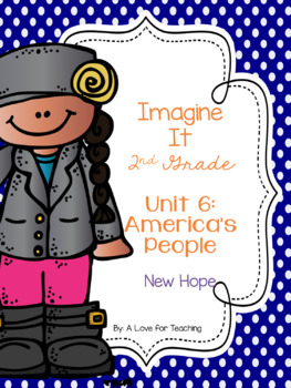 Imagine It New Hope Grade 2 {Editable}