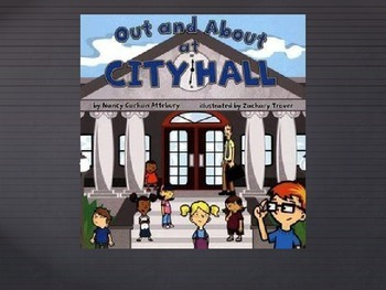 Imagine It! Out and About in City Hall Vocabulary