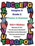 Imagine It Reading Grade 2 Phonics and Grammar Activities