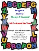 Imagine It Reading Grade 2 Phonics and Grammar Activities Unit 3 Around the Town