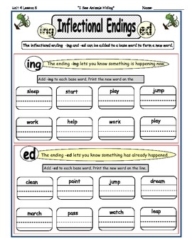 Imagine It Reading Grade 2 Phonics and Grammar Activities Unit 4 Look Again