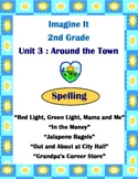 Imagine It Reading Grade 2 Spelling List and Activities Unit 3 Around the Town