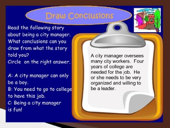 Imagine It Reading Grade 2 Unit 3 Lesson 4 Out and About at City Hall Powerpoint