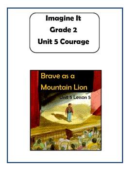 Imagine It Reading Grade 2 Unit 5 Lesson 5 Brave as a Mountain Lion Supplemental