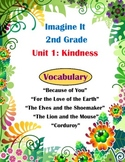 Imagine It Reading Grade 2 Vocabulary Printable Unit 1 Kindness