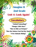 Imagine It Reading Grade 2 Vocabulary Printables Unit 4 Lo