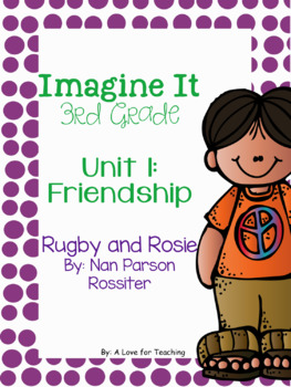 Imagine It Rugby and Rosie Grade 3 {Editable}