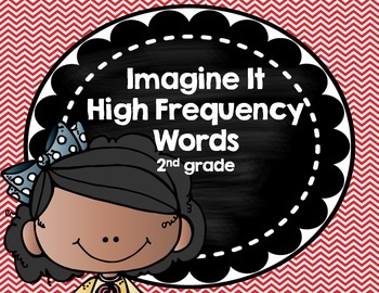 Imagine It SRA High Frequency Words - Red Chevron 2nd grade