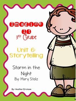 Imagine It Storm in the Night Grade 3 {Editable}