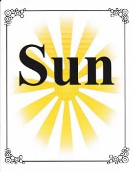 Sun:  Imagine It, Grade 3