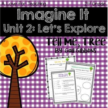 Imagine It Tell Me, Tree Grade 2 {Editable}