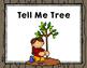 "Imagine It ""Tell Me Tree""  Unit 2.5 Reading Focus Wall-Grammar Game"