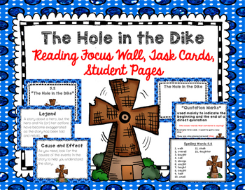 """Imagine It """"The Hole in the Dike""""  Unit 5.2 Reading Focus"""