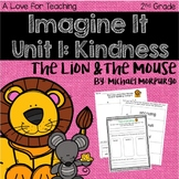 Imagine It The Lion and the Mouse Grade 2 {Editable}