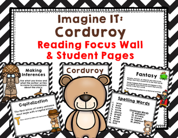 "Imagine It ""Corduroy ""Unit 1.5- Reading Focus Wall-Grammar"