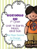 Imagine It The Moon Seems to Change Grade 3 {Editable}