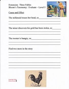 Three Fables, Imagine It Grade 4