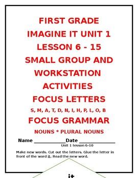 Imagine It Unit 1 lesson 6 - 15