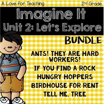 Imagine It Unit 2 Let's Explore Grade 2 {Editable}