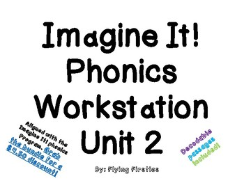 Imagine It Unit 2 Phonics Workstation
