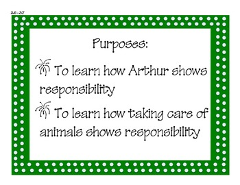 Imagine It! Unit 3 First Grade Focus Questions and Purposes