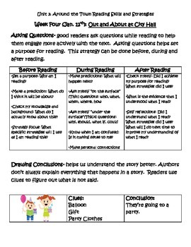 Imagine It Unit 3 Grade 2 Reading Skills and Strategies
