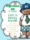 Imagine It Unit 3 Money Grade 3 {Editable}