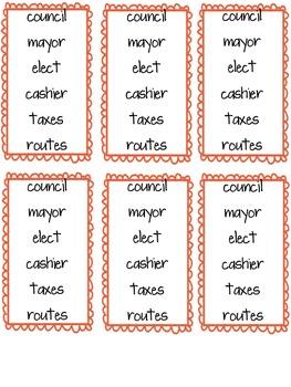Imagine It Unit 3 Vocabulary Cards
