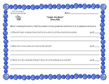 Imagine It! Unit 4 - Decodable Fluency & Comprehension