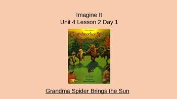 Imagine It Unit 4 Lesson 2 Grandmother Spider