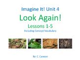 """Imagine It! Unit 4 """"Let's Explore"""" Vocabulary Cards"""