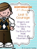 Imagine It Unit 5 Courage Grade 2 {Editable}
