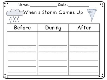 Imagine It! Unit 5 Graphic Organizers for First Grade
