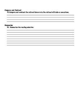 Imagine It Unit 5 Lesson 1 - The Golden Spike Worksheets