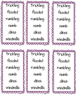 Imagine It Unit 5 Vocabulary Cards