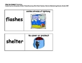 Imagine It Unit 5 Vocabulary Picture Cards--What's the Weather
