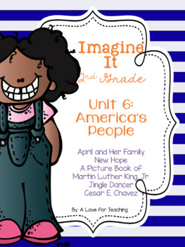 Imagine It Unit 6 America's People Grade 2 {Editable}