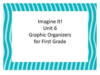 Imagine It! Unit 6 Graphic Organizers First Grade
