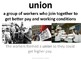 Imagine It Unit 6 Lesson 5 Cesar E. Chavez Picture Vocabulary Cards