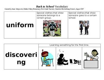 Imagine It Units 1-10 Vocabulary Picture Cards Bundle