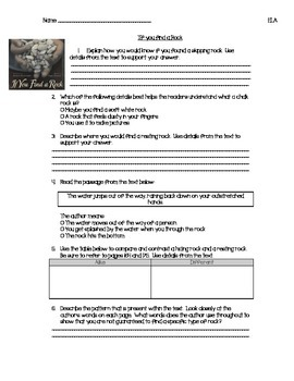Imagine It! Worksheets Second Grade