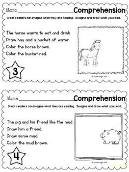 35 Comprehension Builders - Skill Builder Series