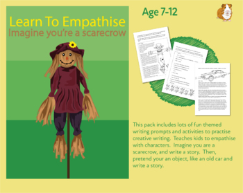 Imagine You Are A Scarecrow And Write Your Story (7-11 years)
